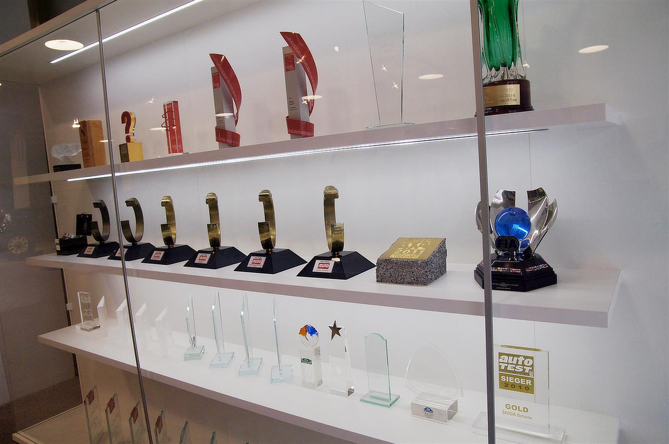 Skoda Auto has collected hundreds of awards for a period of cooperation with Volkswagen